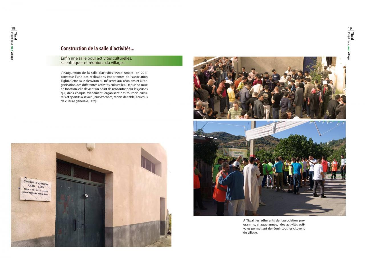 projet pour mon village (10) ( Tiwal, Beni Maouche, Bejaia )