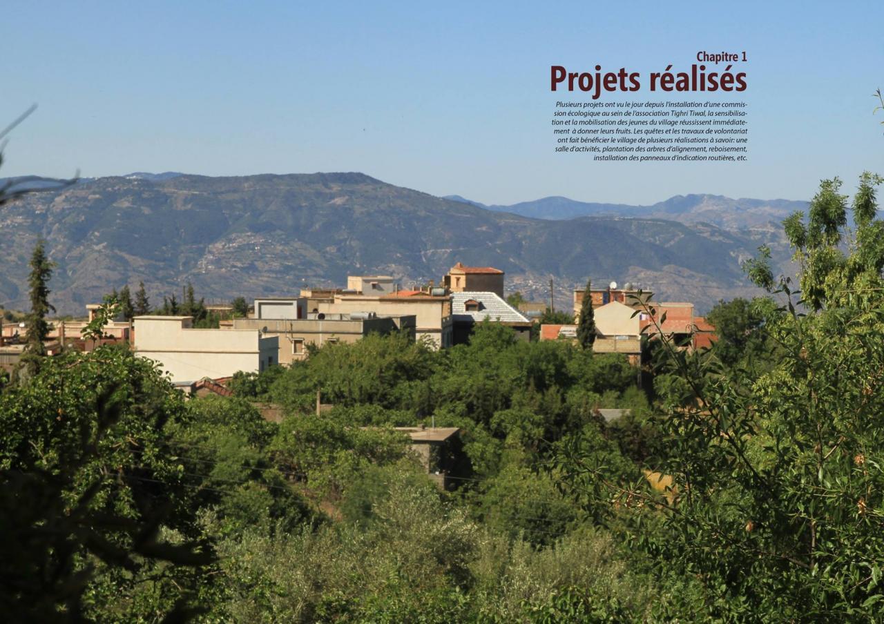 projet pour mon village (7) ( Tiwal, Beni Maouche, Bejaia )