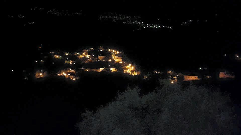 village tiwal . beni maouche . bejaia . projet Eclairage publique